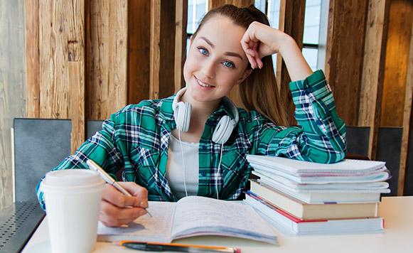 Estudiante del curso de Inglés en Eastbourne