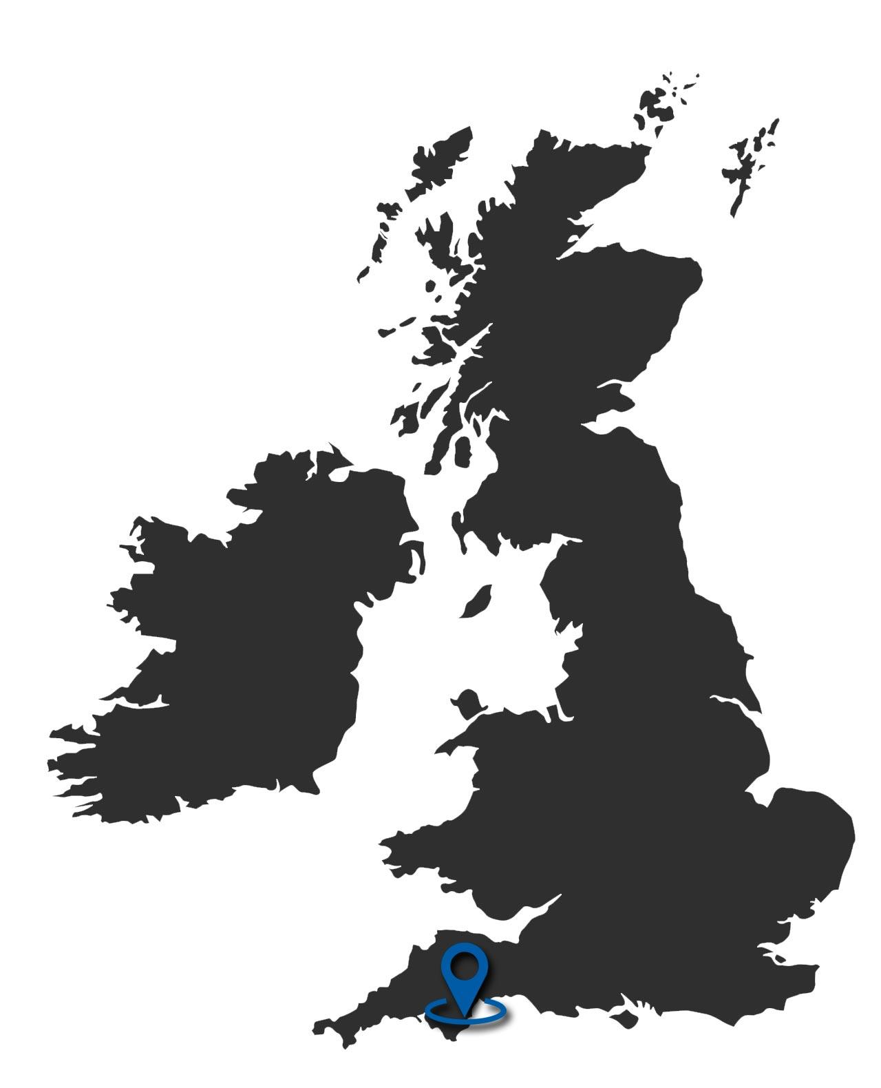 Mapa de Torquay