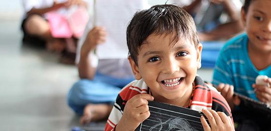 Enseñando inglés en India