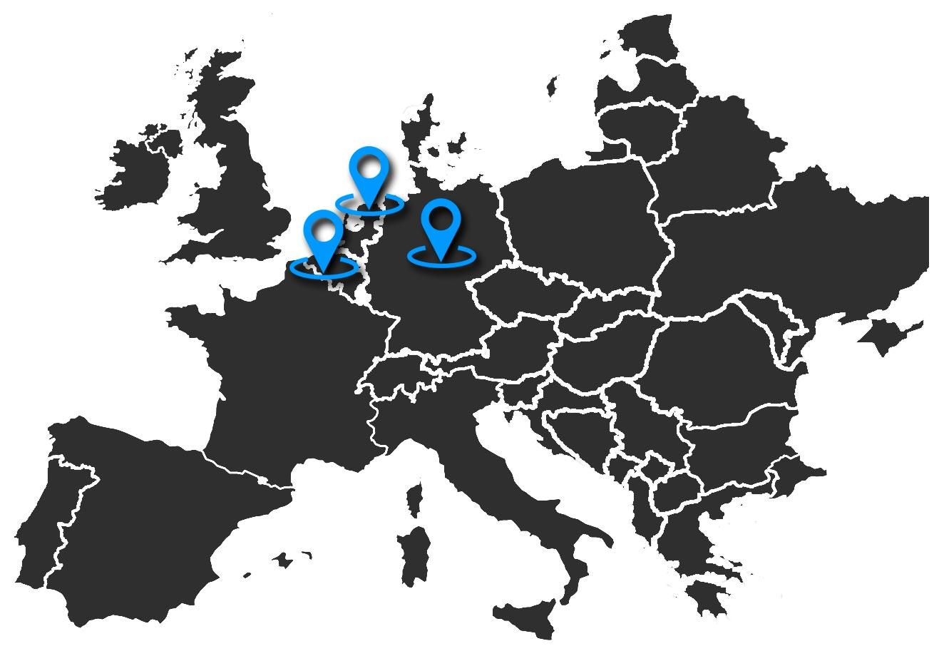 Destinos Alemania, Holanda y Bélgica