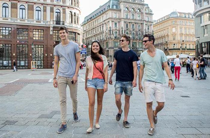 Travel Workers visitando la ciudad de Viena