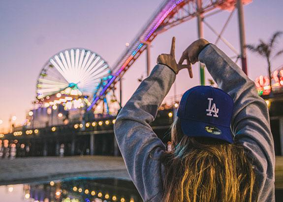 Parque de atracciones en Los Ángeles